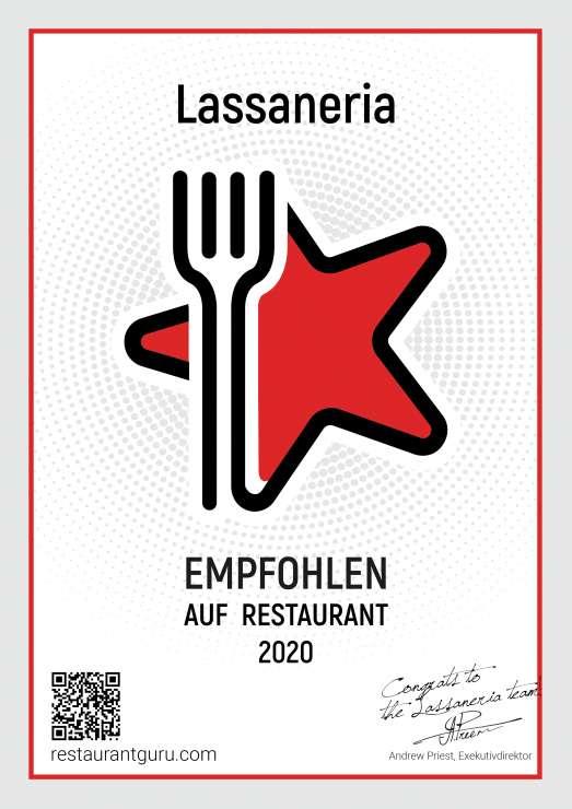 Lassaneria – empfohlen auf Restaurant Guru 2020